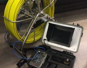 Video inspeção correia desentupidora